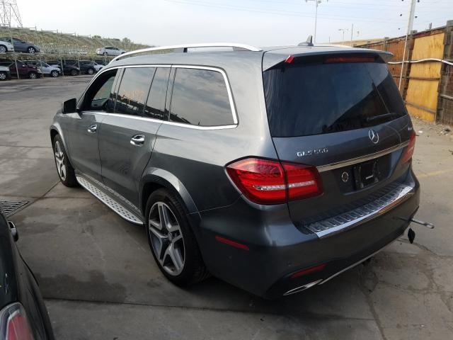 2017 Mercedes-benz Gls 550 4m 4.7. Lot 47641600 Vin 4JGDF7DE1HA849991