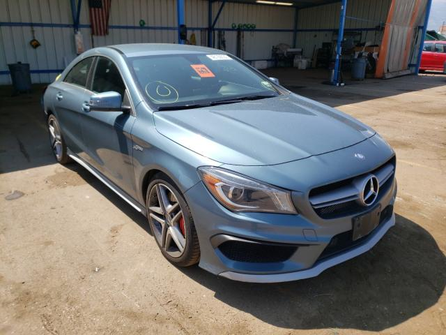 2014 Mercedes-benz Cla 45 amg 2.0. Lot 48160030 Vin WDDSJ5CB0EN068198