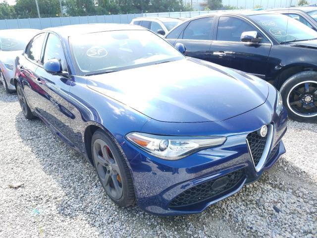 2018 Alfa romeo Giulia 2.0. Lot 47043190 Vin ZARFAEBN0J7582063