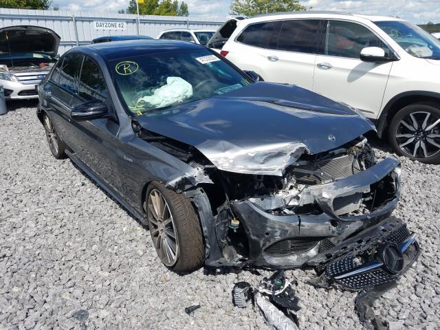 2018 Mercedes-benz C 43 4mati 3.0. Lot 47332930 Vin 55SWF6EB2JU262657