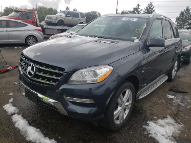 2012 Mercedes-benz Ml 350 4ma 3.5. Lot 48435980 Vin 4JGDA5HB3CA022652