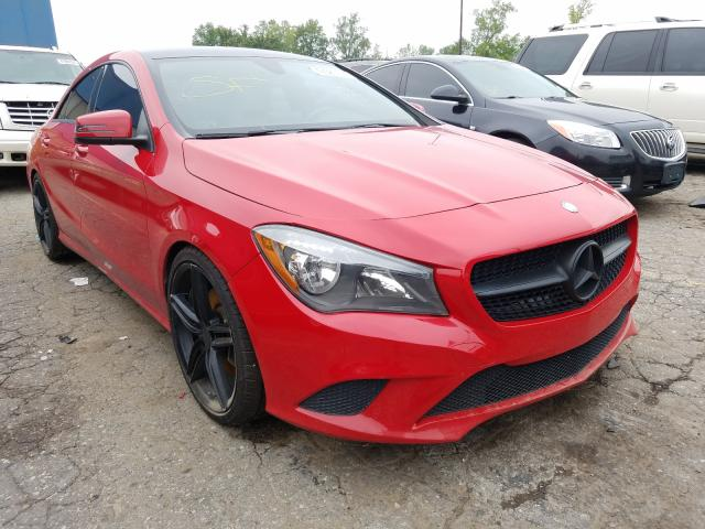2015 Mercedes-benz Cla 250 2.0. Lot 47683420 Vin WDDSJ4EB6FN202981
