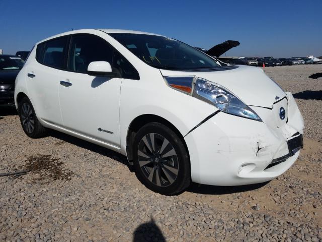 2017 Nissan Leaf . Lot 49121700 Vin 1N4BZ0CP0HC300323
