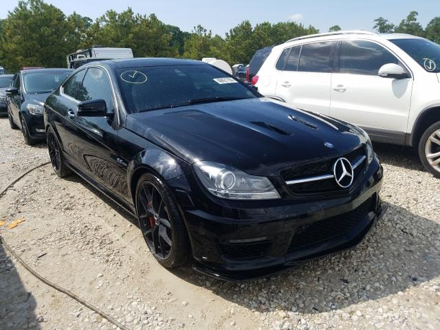 2014 Mercedes-benz C 63 amg 6.2. Lot 48421750 Vin WDDGJ7HB2EG314344