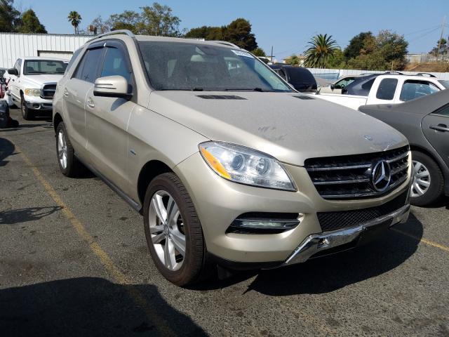 2012 Mercedes-benz Ml 350 blu 3.0. Lot 51201210 Vin 4JGDA2EB4CA088159