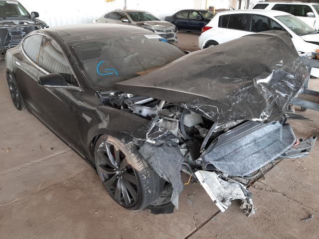 2015 Tesla Model s 85 . Lot 49549860 Vin 5YJSA1H20FFP70209