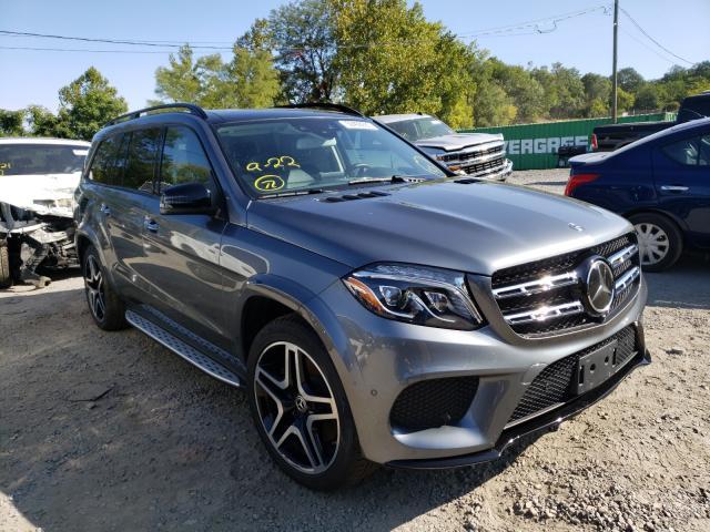 2018 Mercedes-benz Gls 550 4m 4.7. Lot 50408890 Vin 4JGDF7DE6JB020611
