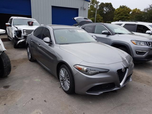 2018 Alfa romeo Giulia ti 2.0. Lot 50255840 Vin ZARFAEEN2J7579757