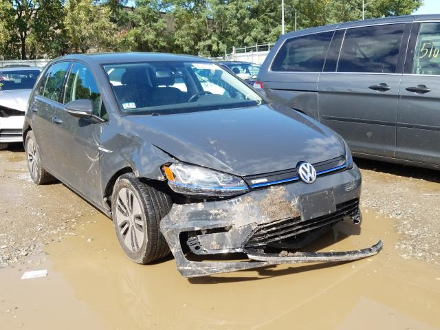 2015 Volkswagen E-golf sel . Lot 50845770 Vin WVWPP7AU7FW902669