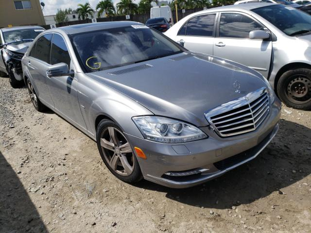 2012 Mercedes-benz S 550 4.6. Lot 51816930 Vin WDDNG7DB3CA447061