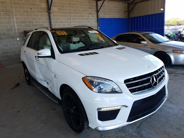 2015 Mercedes-benz Ml 63 amg 5.5. Lot 52413350 Vin 4JGDA7EB1FA487550
