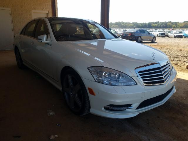 2013 Mercedes-benz S 550 4.6. Lot 52810290 Vin WDDNG7DB7DA533071