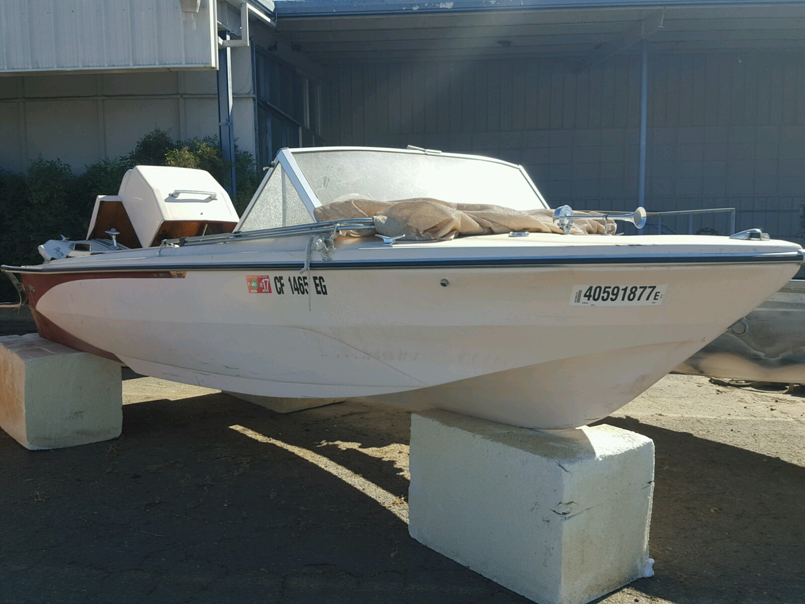 Salvage 1969 Glastron MARINE LOT for sale