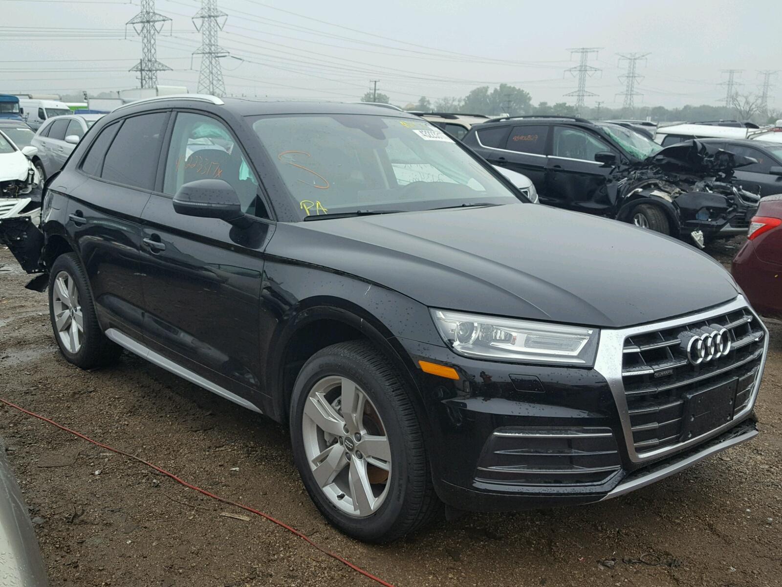 Auto Auction Ended on VIN: WA1ANAFY2J2064324 2018 AUDI Q5 PREMIUM in GA - CARTERSVILLE
