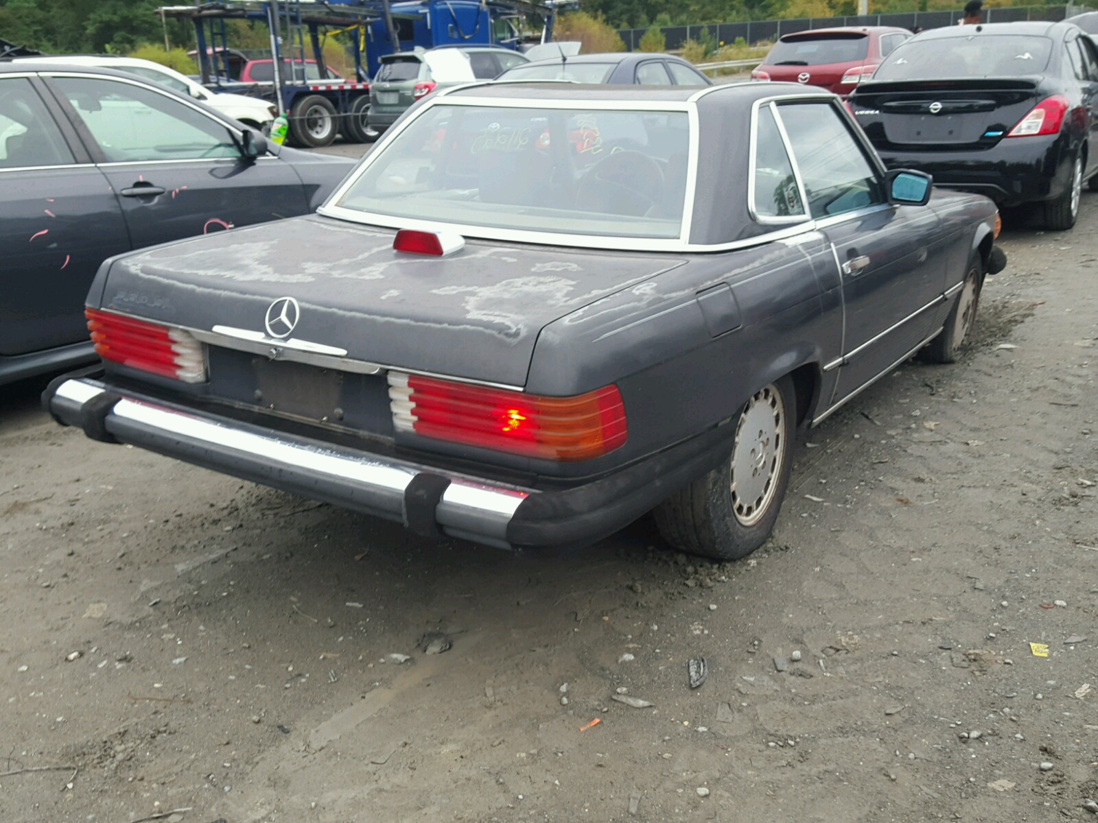 1987 mercedes benz 560 sl for sale at copart waldorf md for Mercedes benz waldorf md