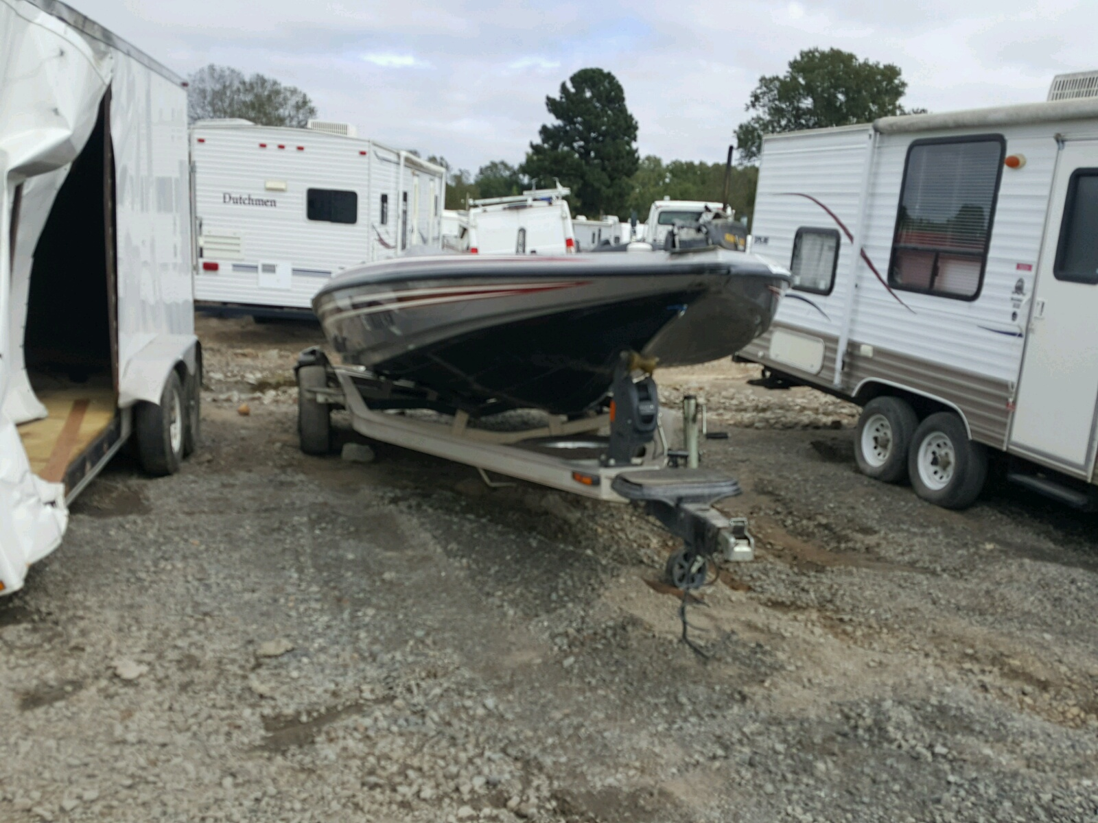 Salvage 2011 Skeeter FX21 BOAT for sale