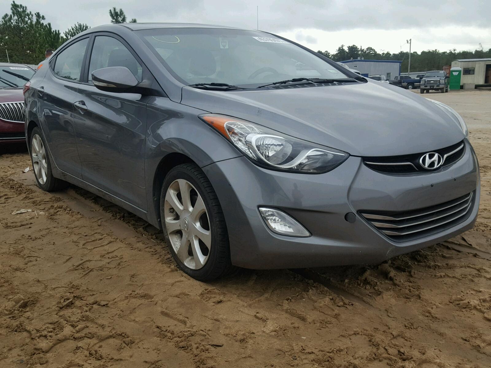 Salvage 2012 Hyundai ELANTRA GL for sale