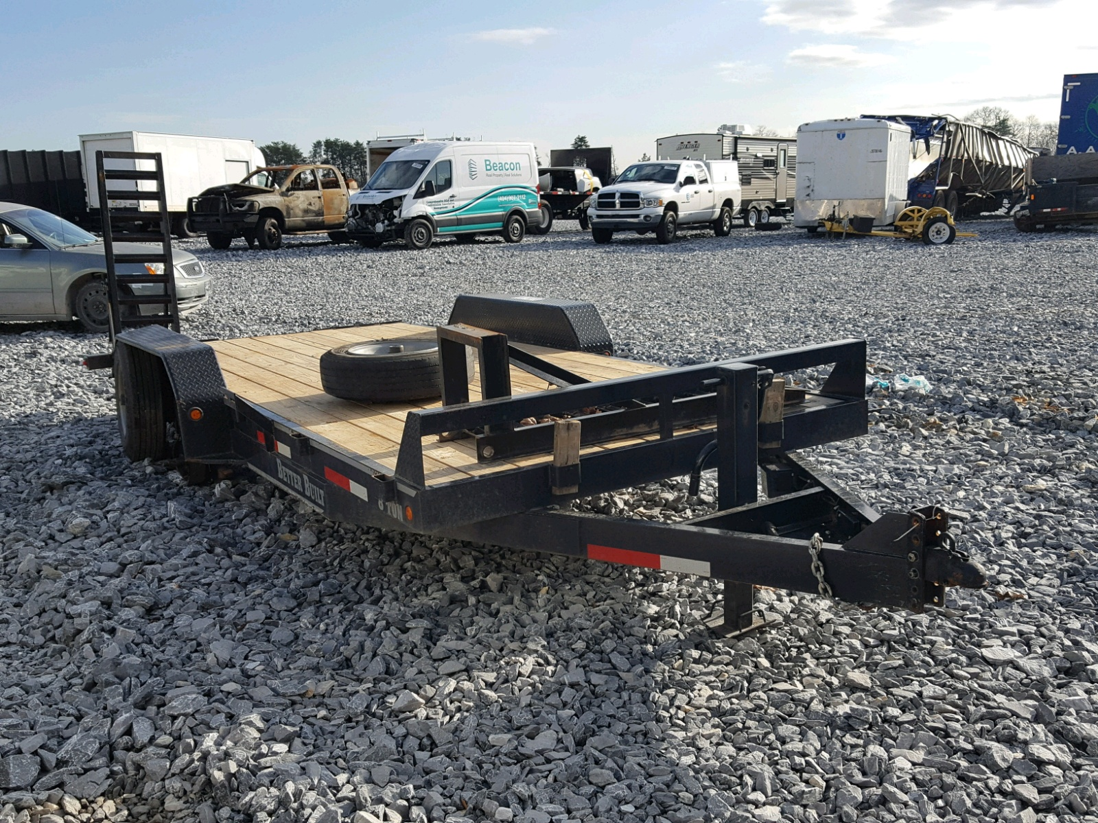Salvaged Trailers for Auction - AutoBidMaster
