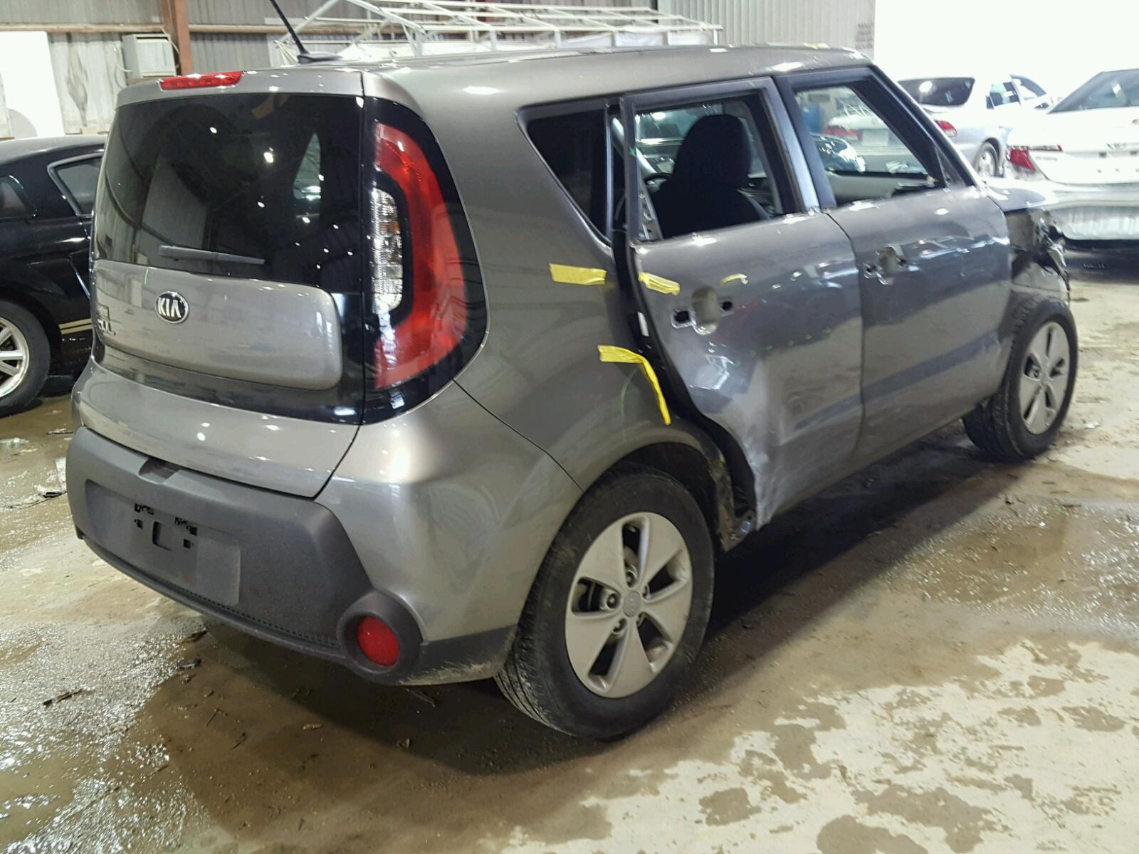 kia view cert baton auctions salvage lx in online of la auto white lot copart forte carfinder en left on sale rouge title