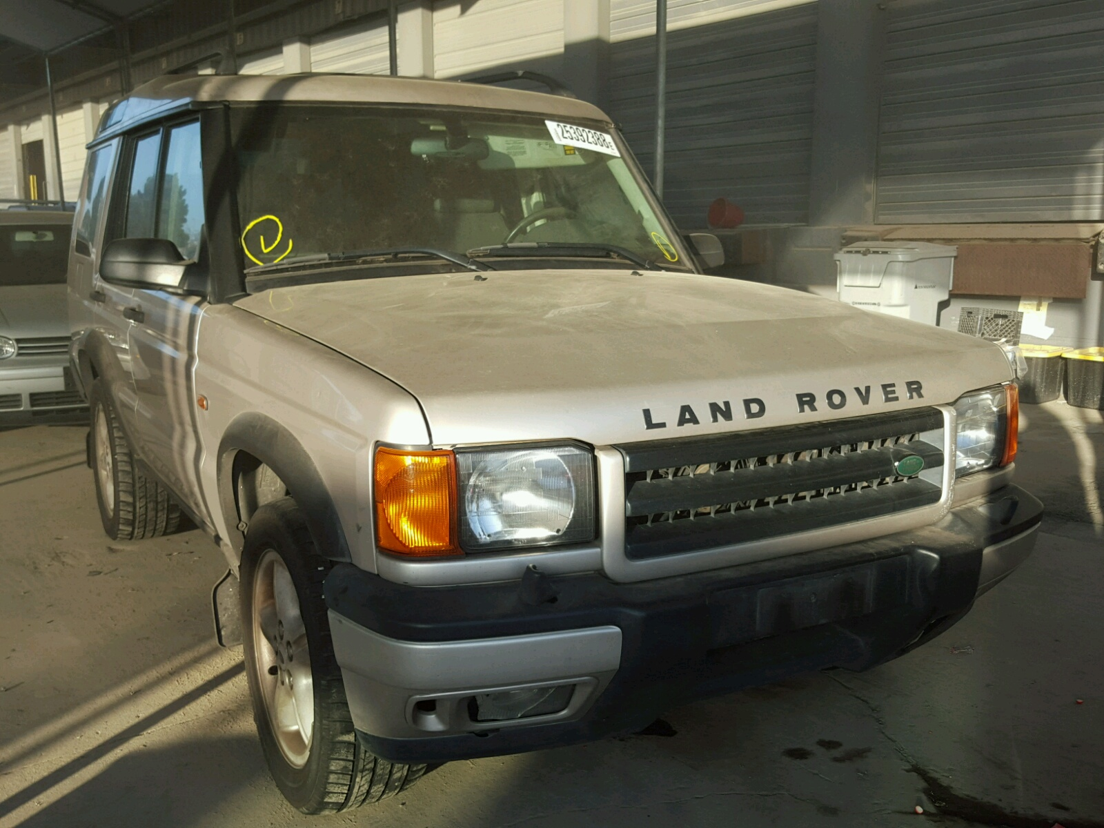 view oklahoma auto land white online for auctions of lot rover in city carfinder copart left title en on ok landrover certificate sale discovery