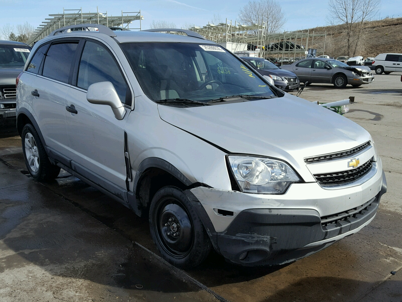 Auto Auction Ended On Vin 3gnal3ek5es618977 2014 Chevrolet Captiva Lt In Fl Miami Central