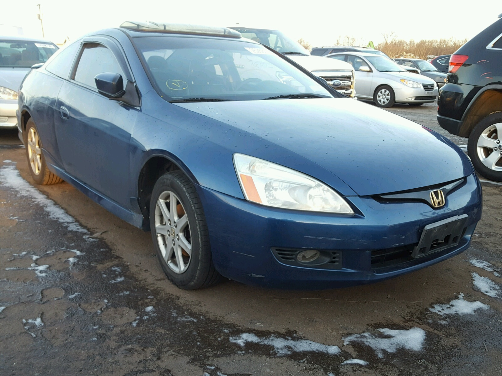Salvage 2003 Honda ACCORD EX for sale