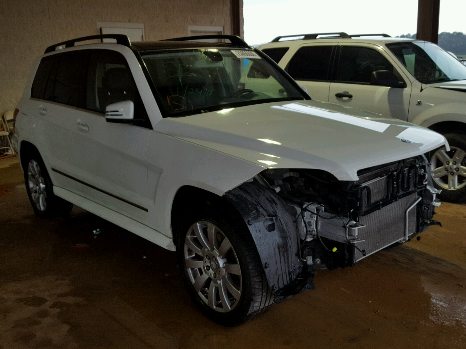 Auto auction ended on vin wdcgg5gb1af497759 2010 mercedes for Mercedes benz glk350 service b cost
