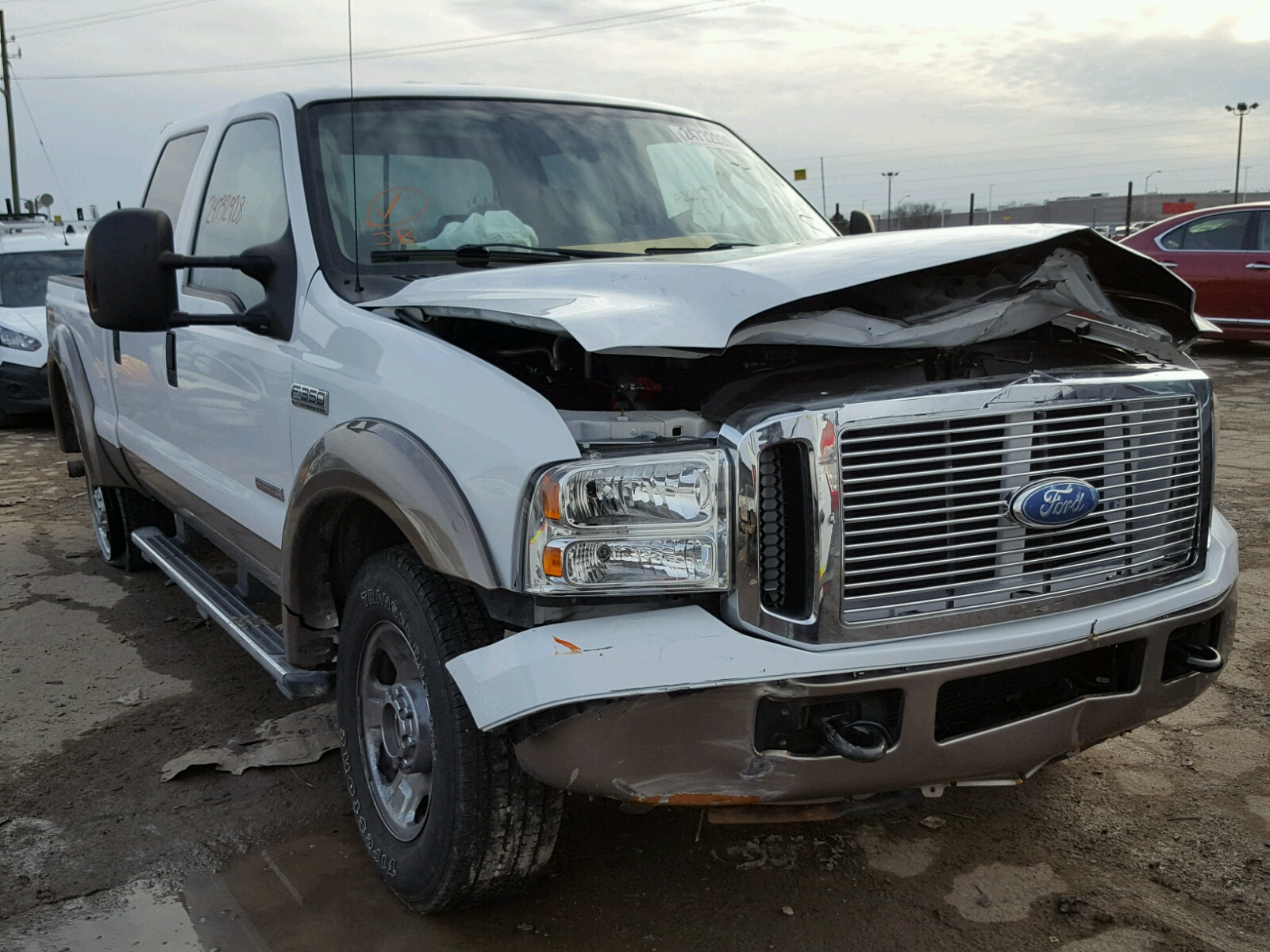 Salvaged FORD F350 for Auction - AutoBidMaster