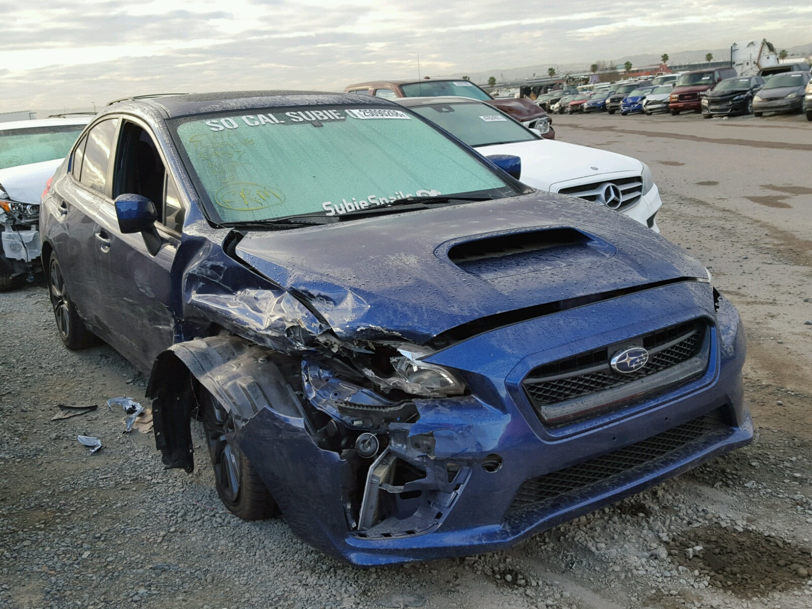 Auto Auction Ended on VIN JF1VA1A68F 2015 SUBARU WRX in UT