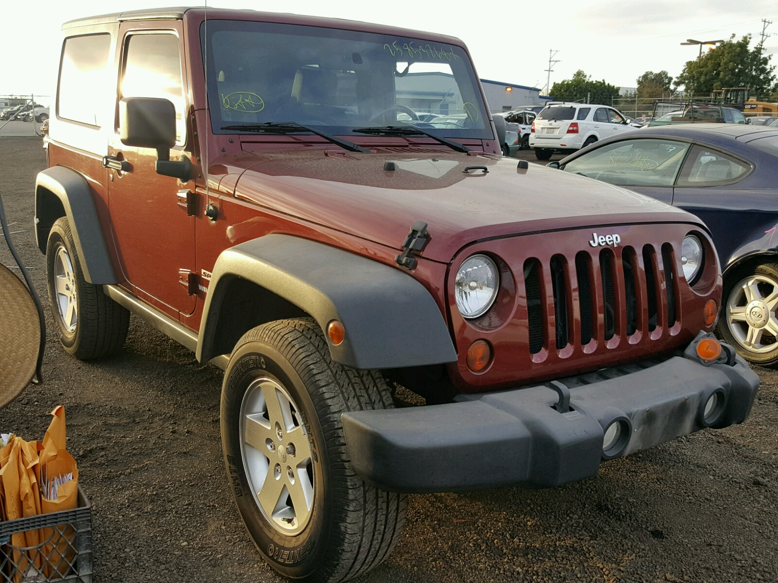 in left jeep on view ca grand copart lot en diego salvage cher carfinder auctions white sale certificate online san auto