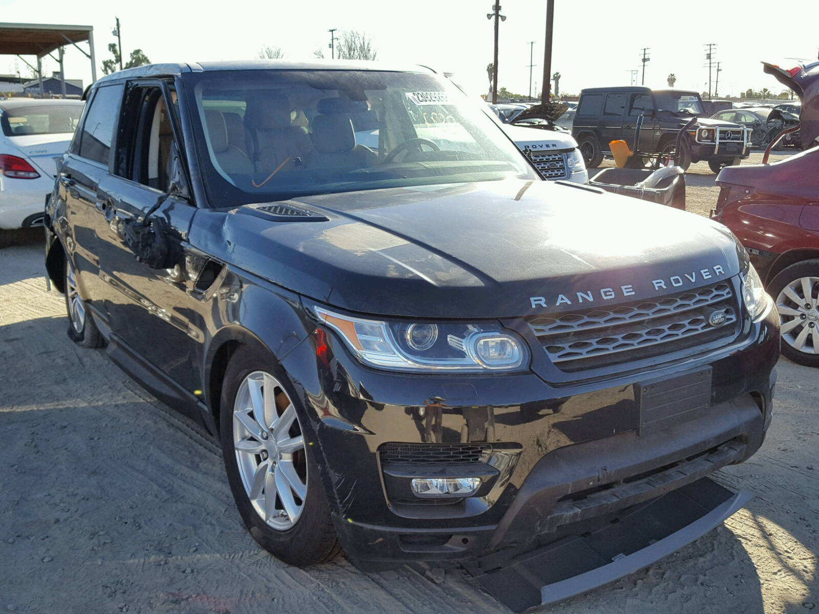 Auto Auction Ended On VIN SALWGPFGA LAND ROVER RANGE - Range rover repair los angeles