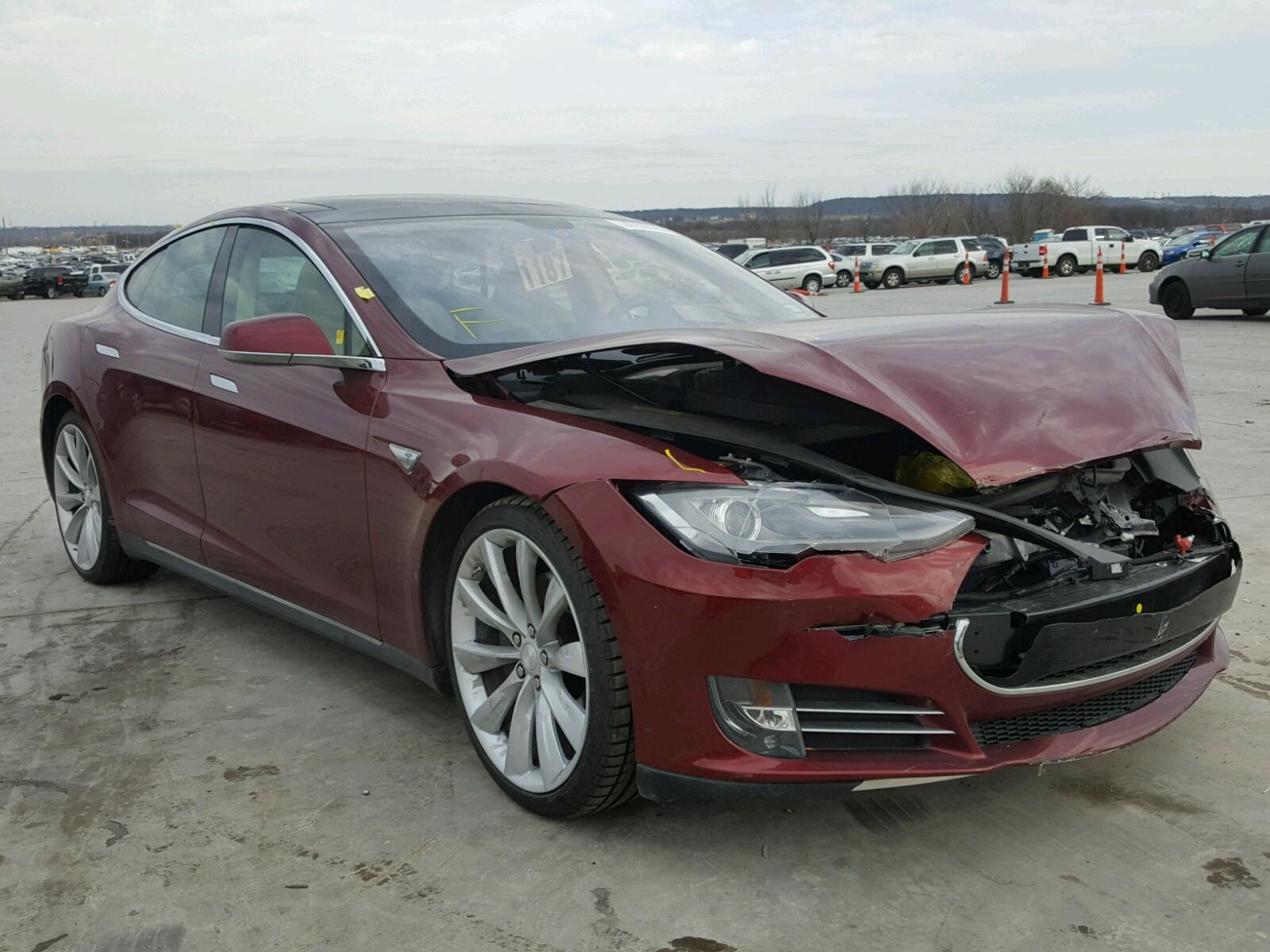 Auto Auction Ended On VIN YJSADNCFS TESLA MODEL S In - 2012 tesla model s