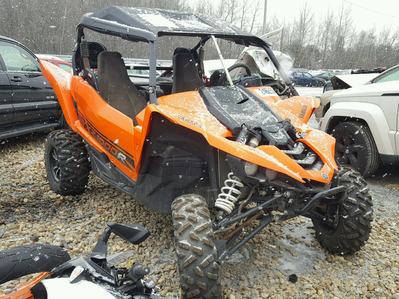 2016 yamaha yxz1000 for sale at copart north billerica ma for Yamaha salvage yards
