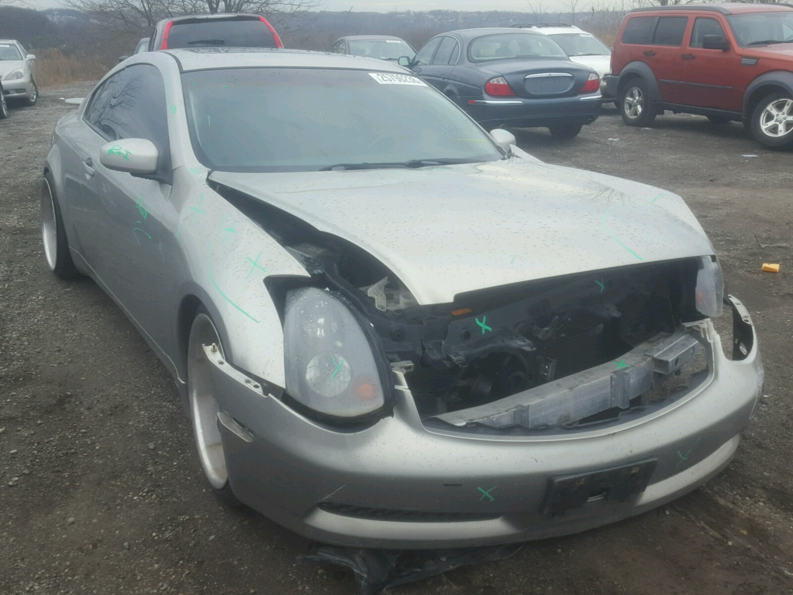 Auto Auction Ended on VIN JNKCV54E44M 2004 INFINITI G35 in MD