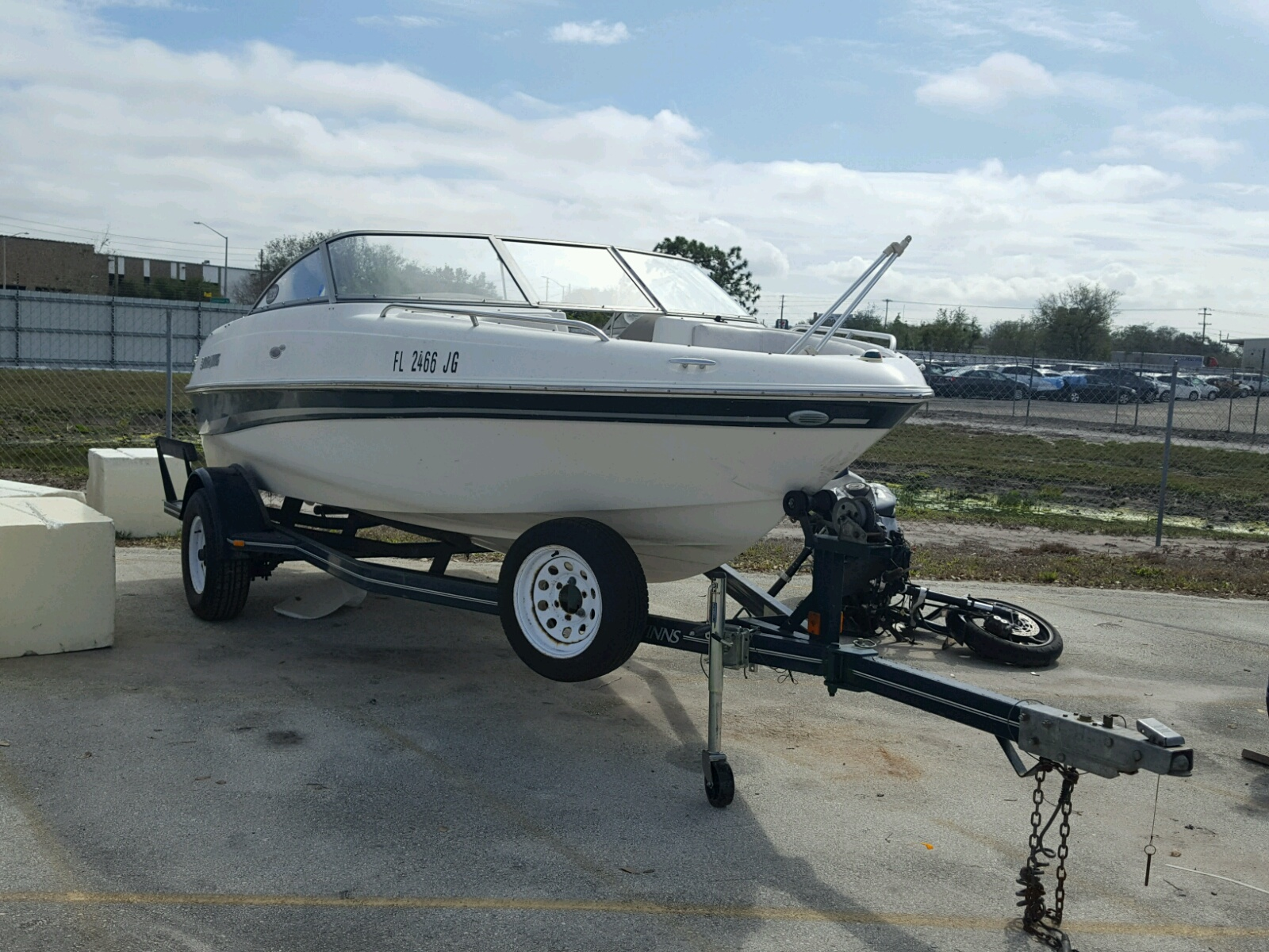 Salvage 2003 Four Winds 180 HORIZO for sale