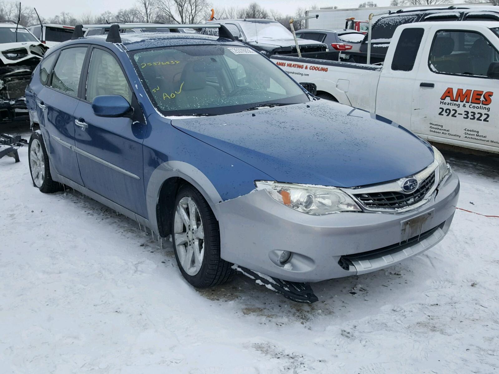 Auto Auction Ended on VIN JF1GH H 2009 SUBARU IMPREZA OU