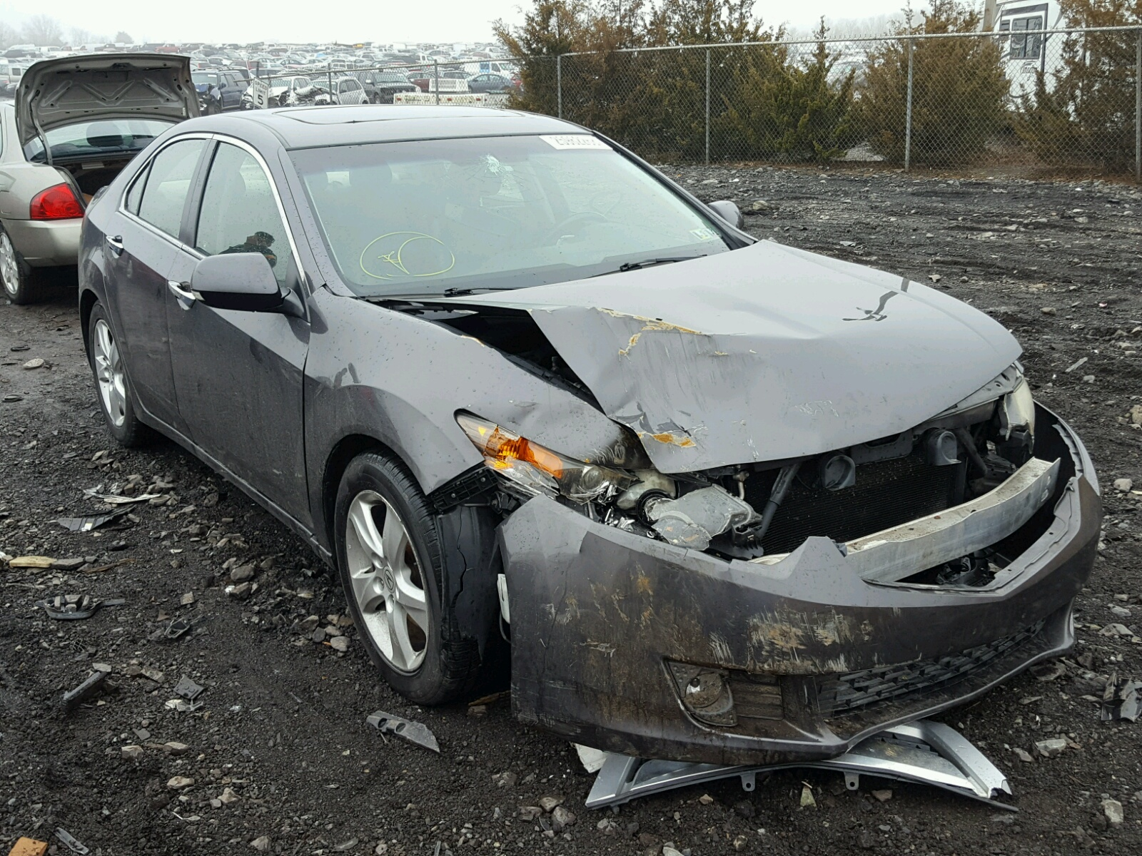 copart sale lot view tsx of baltimore cert dfdb salvage acura on md silver auctions for en in left carfinder damage auto online
