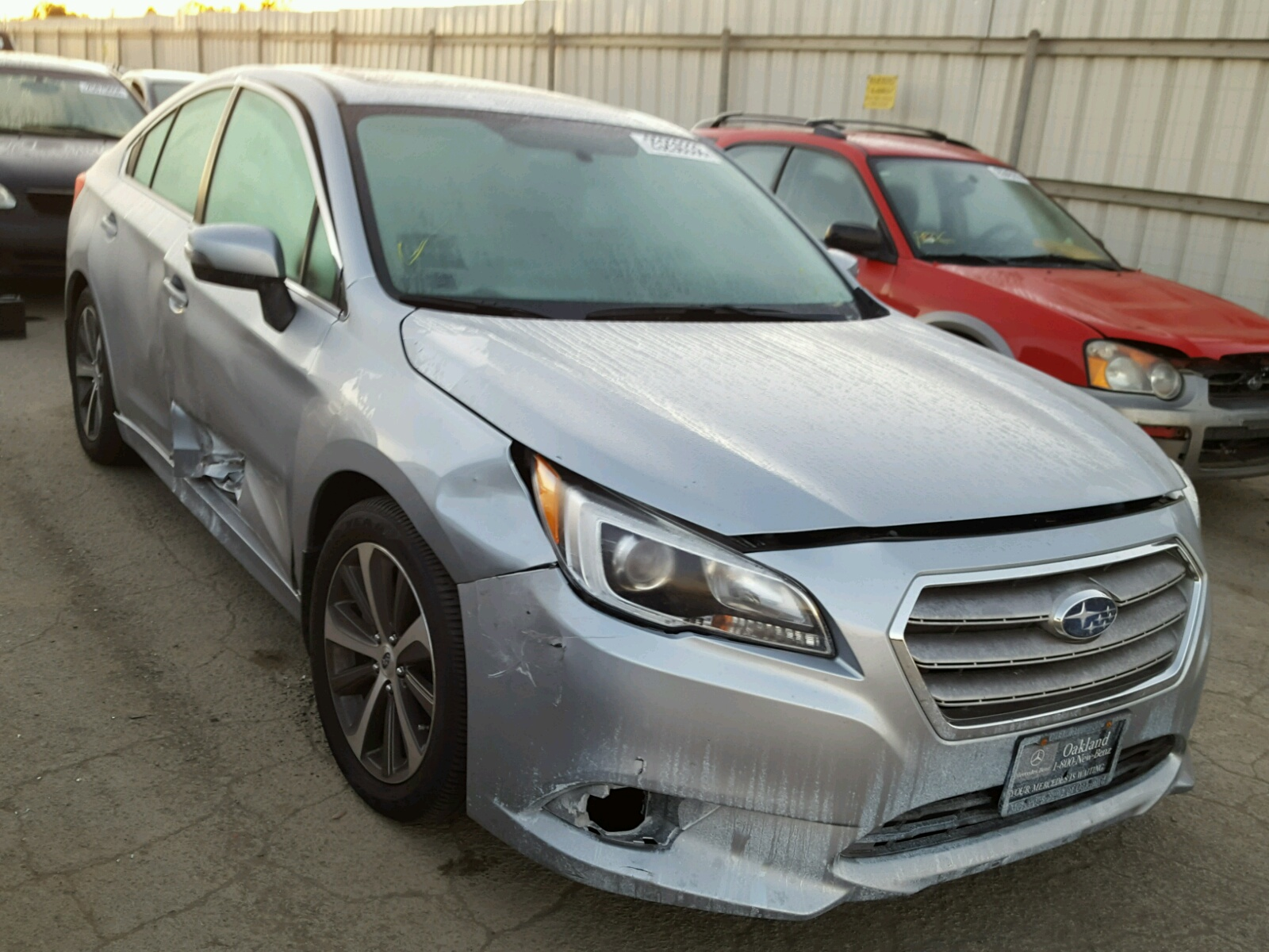 Auto Auction Ended on VIN 4S3BNEN61G 2016 SUBARU LEGACY 3 6