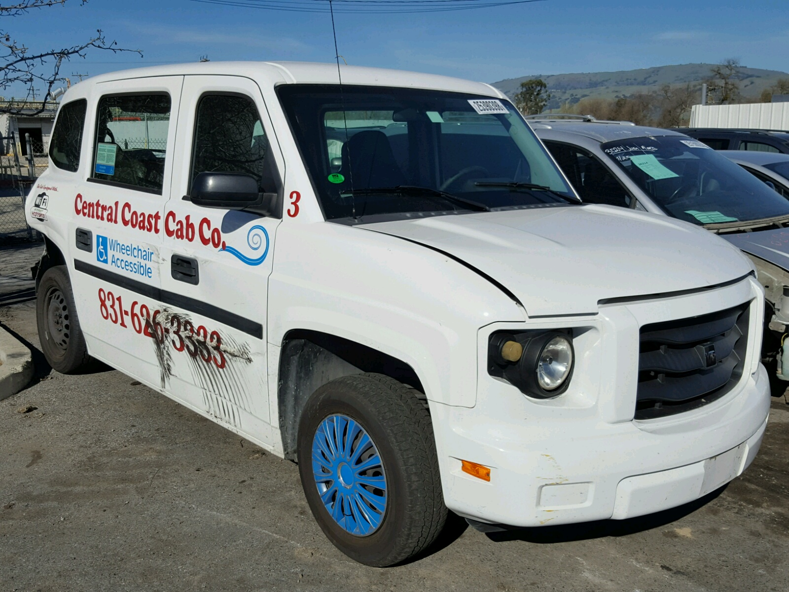 Auto Auction Ended on VIN 523MF1A63CM 2012 VPG MV1 in NV