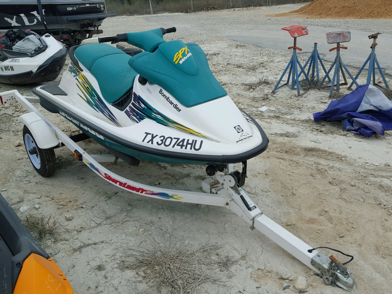 Salvage 1996 Bombardier SEADOO for sale
