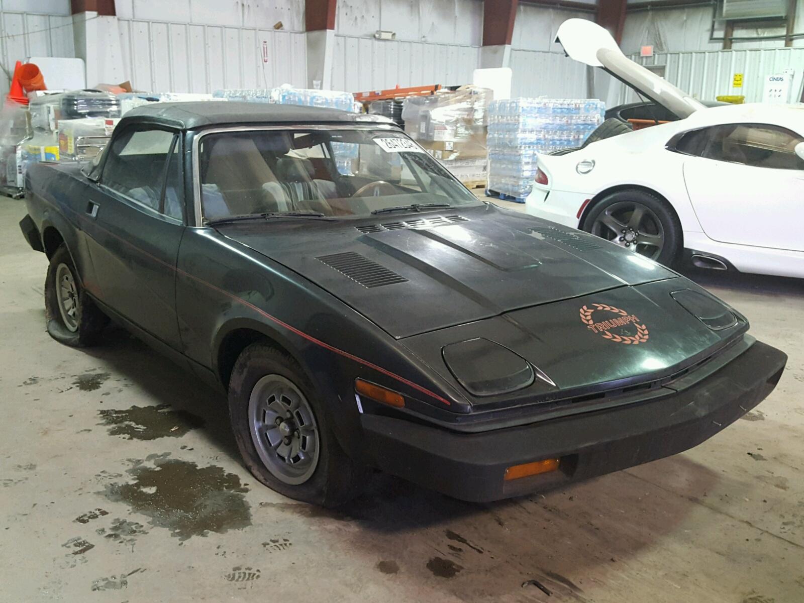 1980 TRIUMPH CAR TR-7