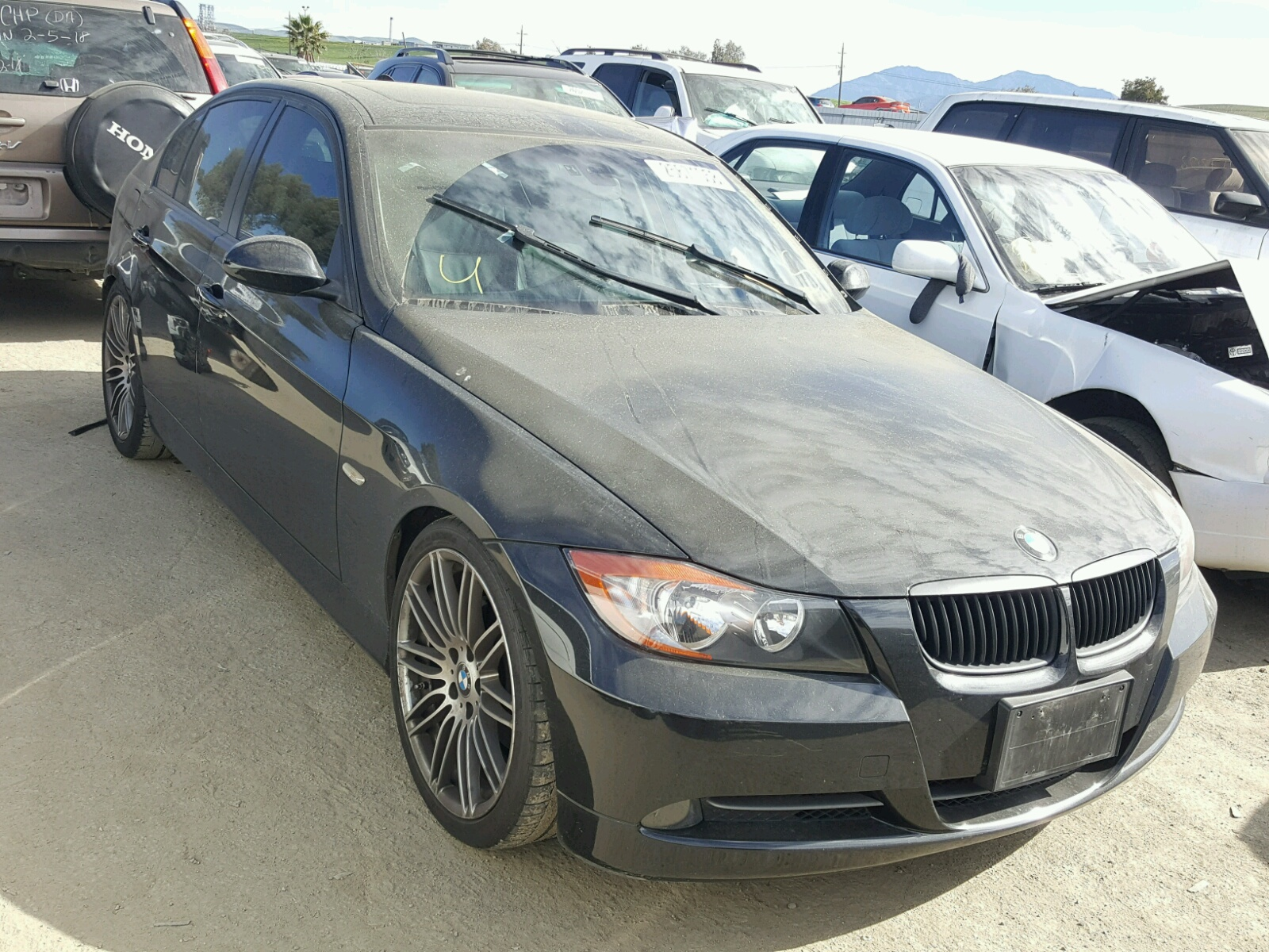 Auto Auction Ended on VIN: WBAVC535X8F009506 2008 BMW 328 I SULE in CA -  MARTINEZ