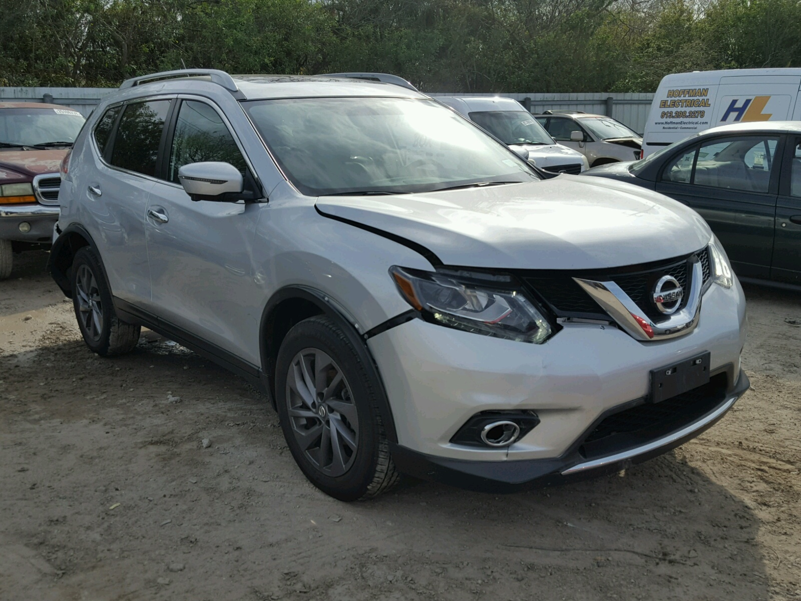 Auto Auction Ended On Vin Jn8at2mt5gw030697 2016 Nissan