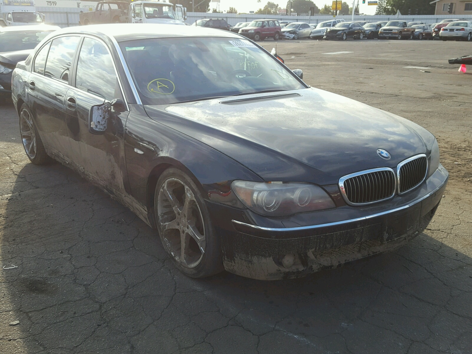 Auto Auction Ended On VIN WBAGLXDP BMW In OR - 2006 bmw 745 for sale
