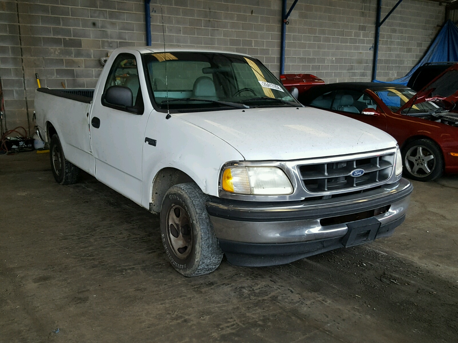 Auto Auction Ended On Vin 1fmhe21g5jhb34237 1988 Ford