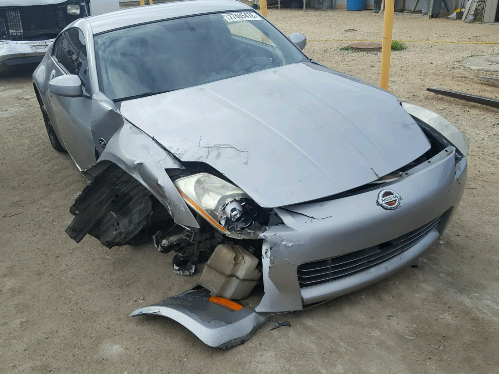 Salvage 2003 Nissan 350Z COUPE for sale