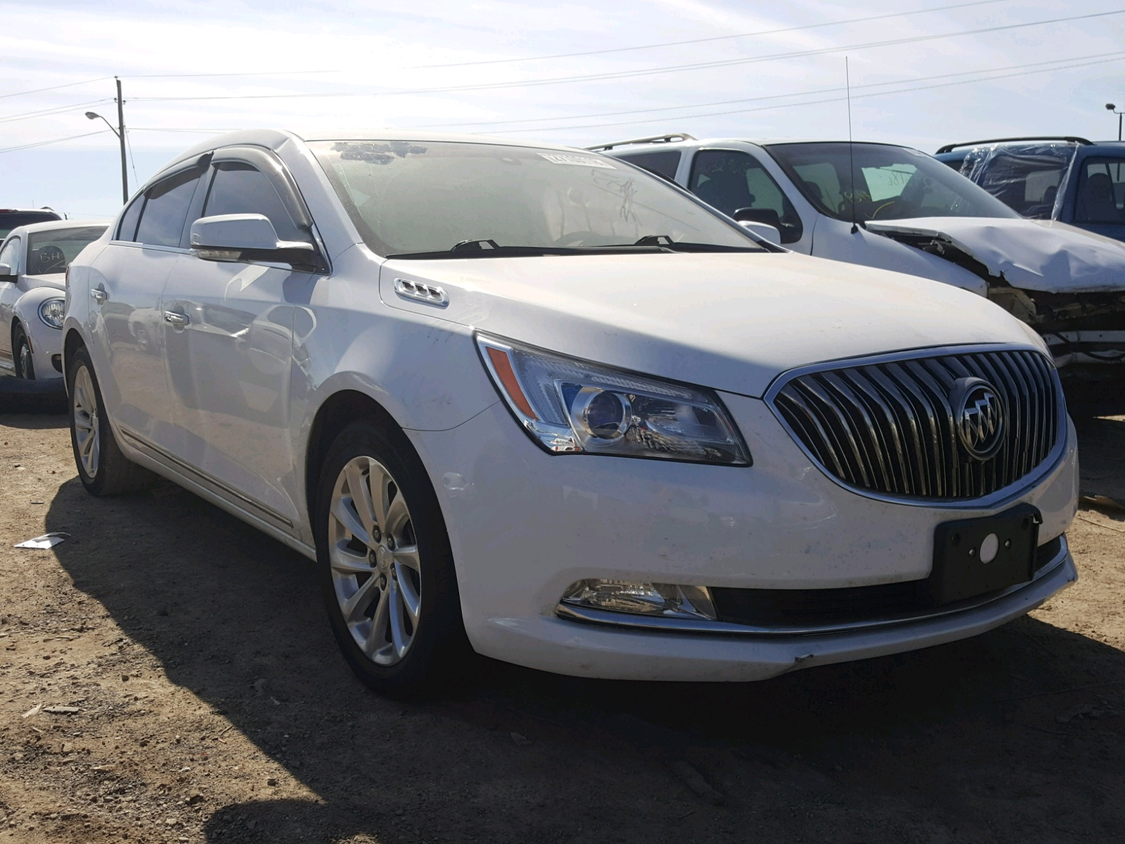 Auto Auction Ended On Vin 1g4gb5g37ff183436 2015 Buick