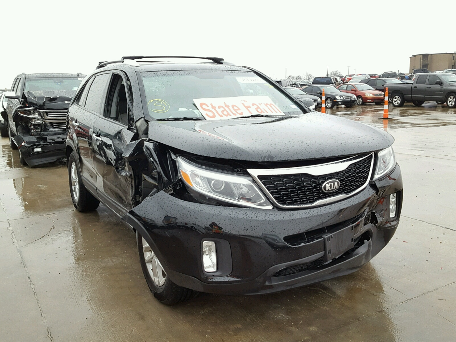 en title tx dallas kia in view online copart on lot ex vehicle sale auctions salvage left optima gray auto carfinder