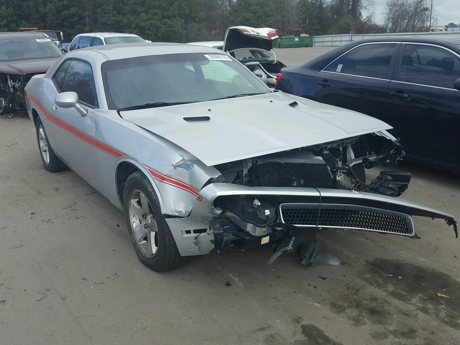online in raleigh copart salvage on auto for view auctions black sale lot challenger left of certificate title carfinder dodge nc en