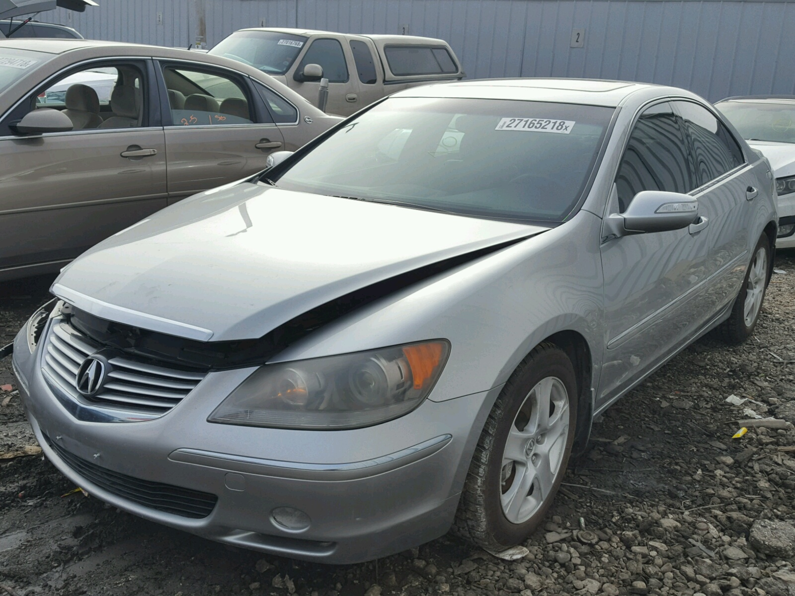 damage rl of sale carfinder view for auto en auctions acura md copart lot salvage online rear baltimore gray cert on in